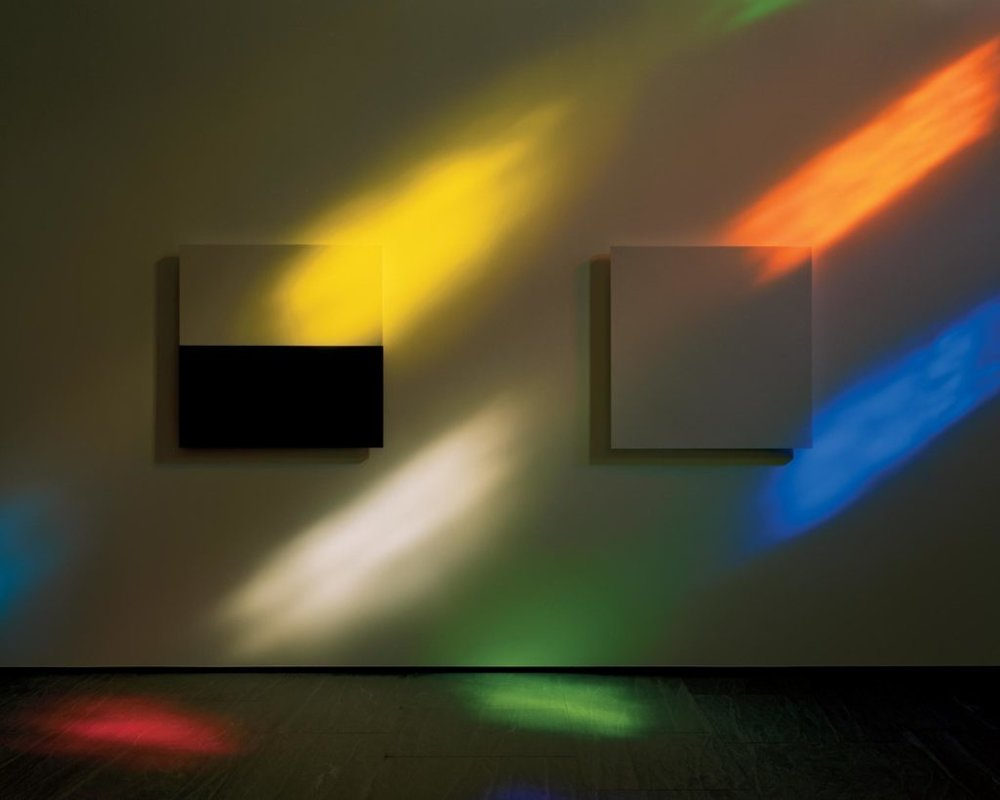 A view inside Ellsworth Kelly's  Austin.  Image courtesy Victoria Sambunaris/ The New York Times.