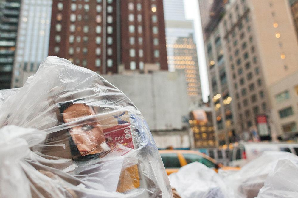 Garbage in Manhattan (2014)
