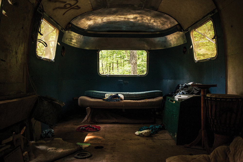 Homestead Airstream Bed (2013)