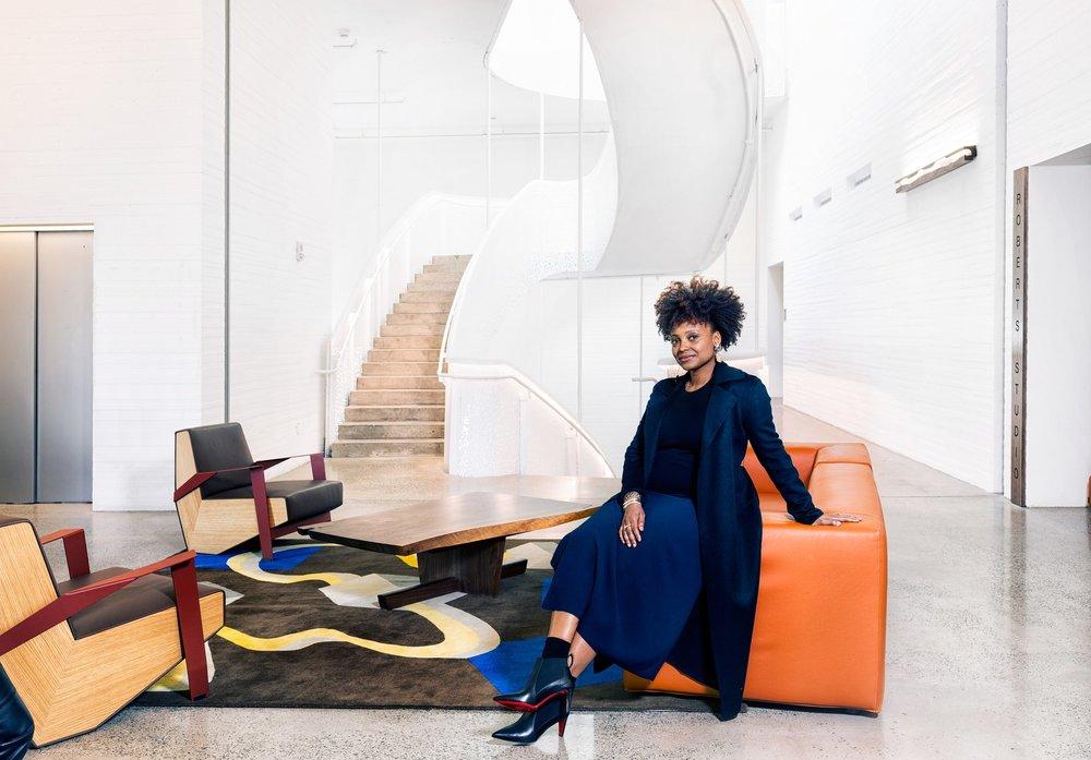Tracy K. Smith. Image courtesy Tanya and Zhenya Posternak /Vogue.