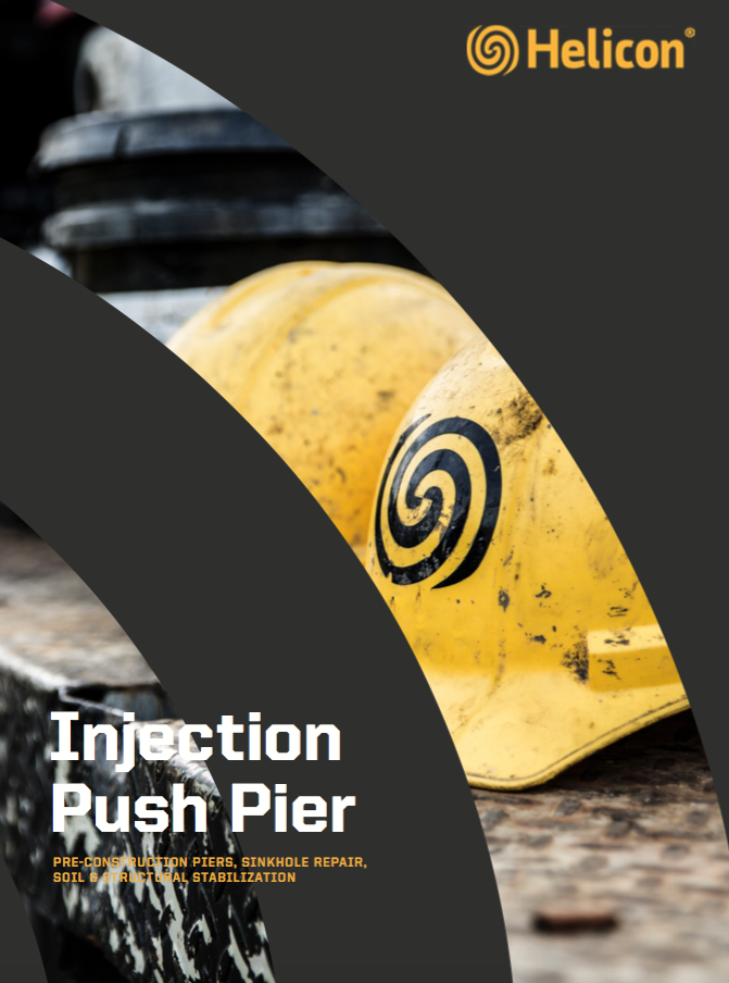 injection push pier