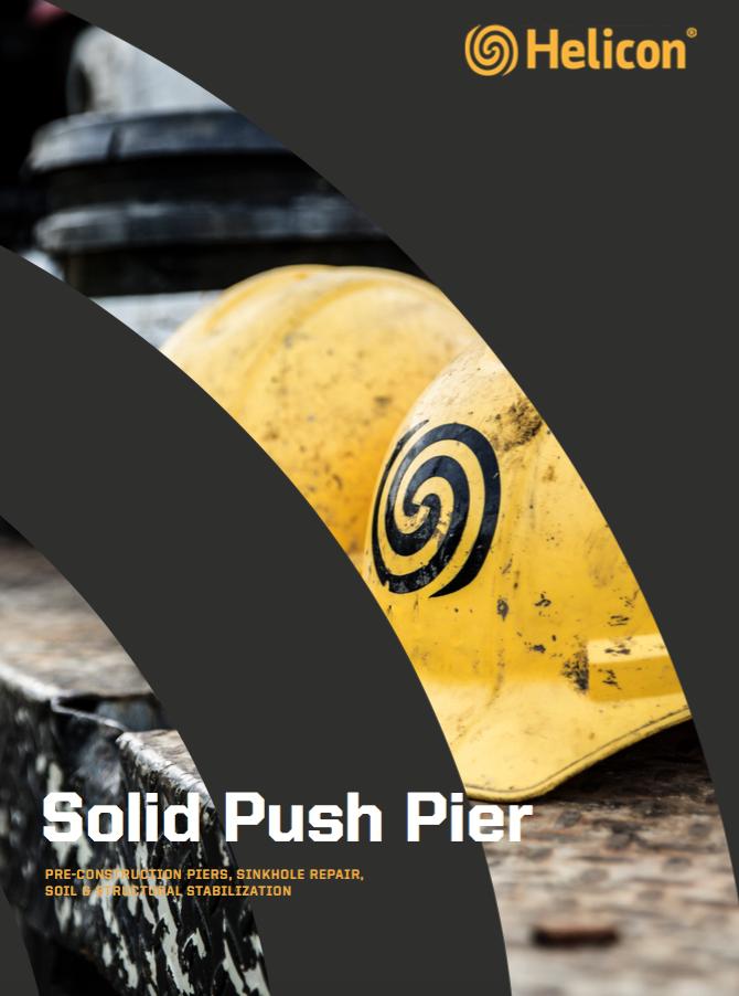 solid push pier