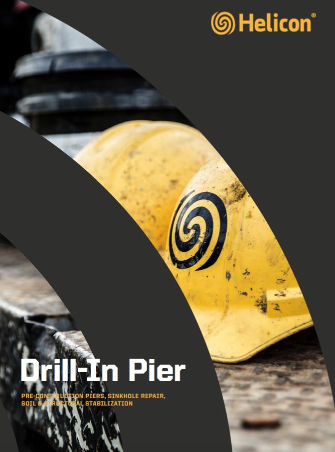 drill-in pier