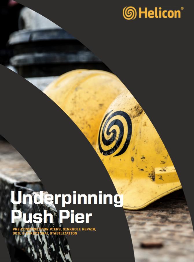 underpinning push pier