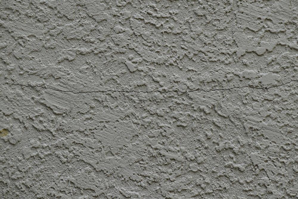 horizontal foundation crack