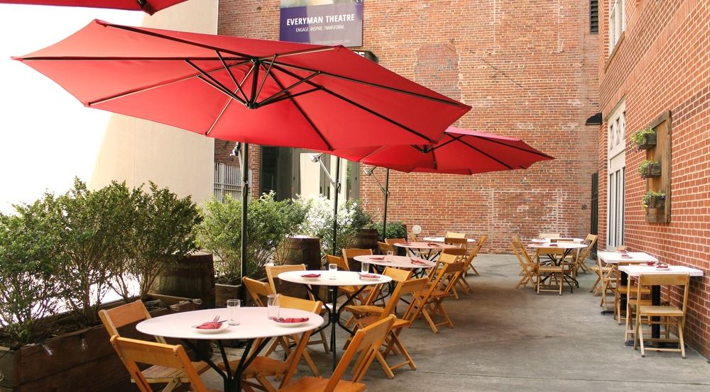 The Patio at  Forno