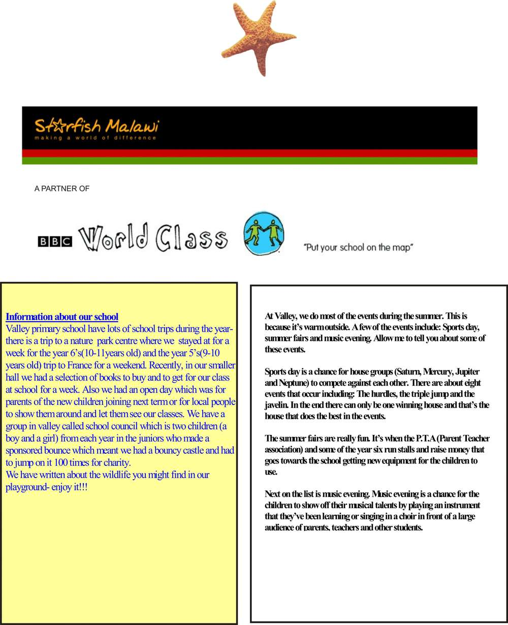 UK Newsletter page 1