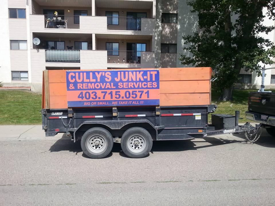 Garage Clean Out Lethbridge lethbridge— Cully\'s Junk It
