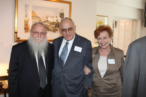 Rabbi Drukman with Jules and Barabara Nordlicht