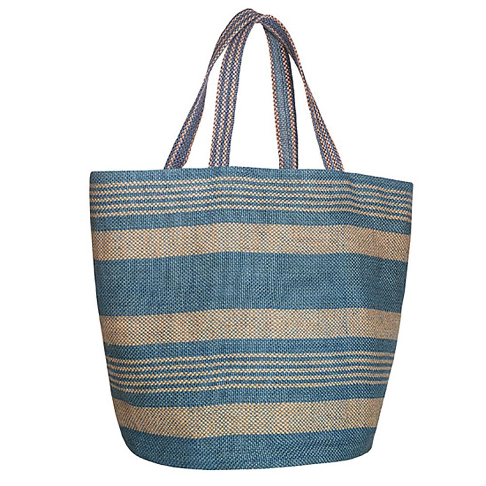 Zink blue jute bag agb.jpg