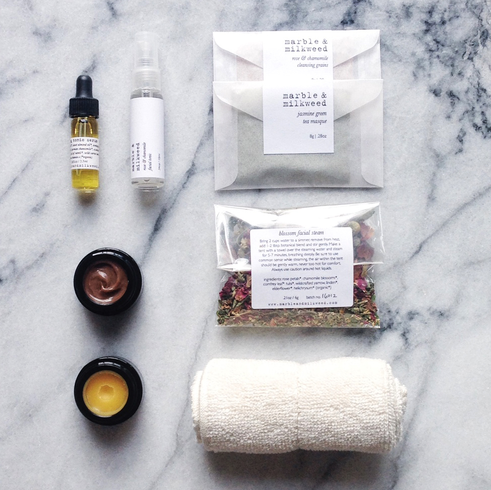 Marble & Milkweed - mini facial kit 2016 copy.jpg