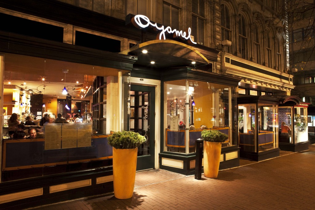 Exterior of Oyamel restaurant located in Penn Quarter DC. (Photo credit: Powers and Crewe)