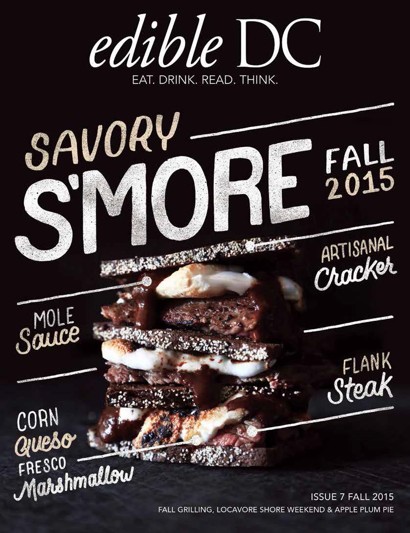 Fall 2015 EdibleDC Cover