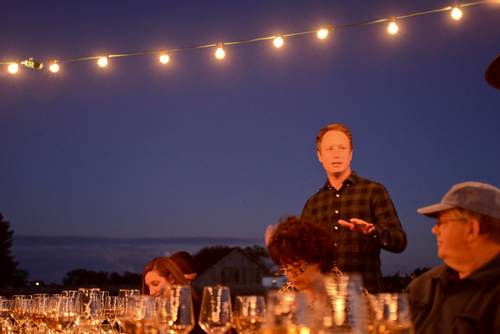 Winemaker Ben Jordan explains the wine pairing selections