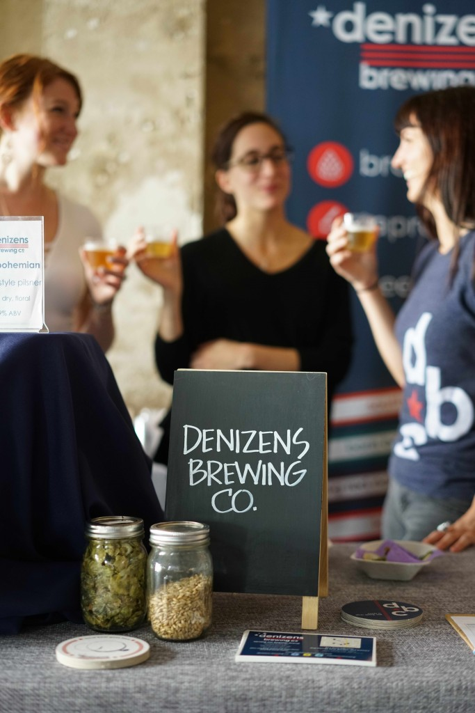Bethesda based, Denizens Brewing Co, had copious amounts of beer and recently announced their first cans are now available exclusively at Glen's Garden Market in Shaw & Dupont. (Photo by Albert Ting)