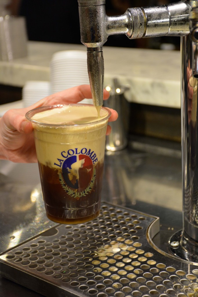 Oh and of course all the coffee you can ask for -- guests also indulged in affogatos combining Trickling Springs Creamery ice cream with La Colombe espresso. (Photo by Raisa Aziz)
