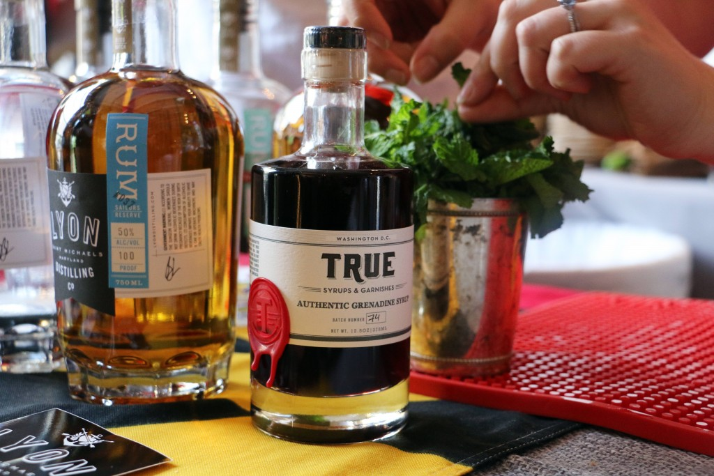 Lyon Distilling & True Syrups partnered up to serve cocktails that were refreshing and uber local. Recipe coming out soon. (Photo by January Jai)