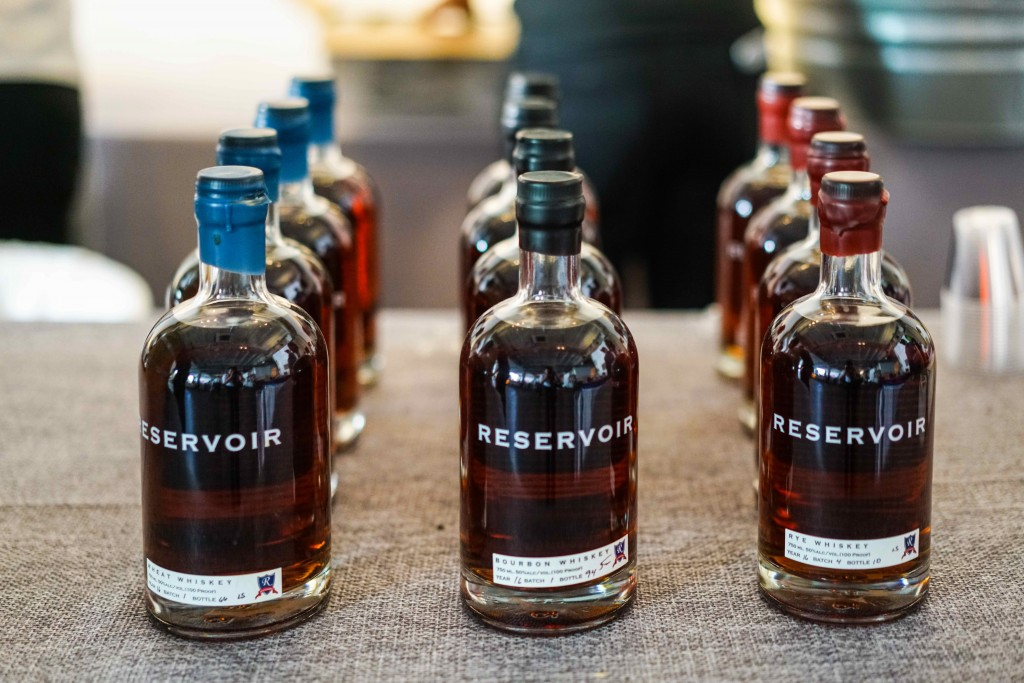 Richmond based, Reservoir Distillery, treated guests to straight pours and their old-fashioned. (Photo by Albert Ting)