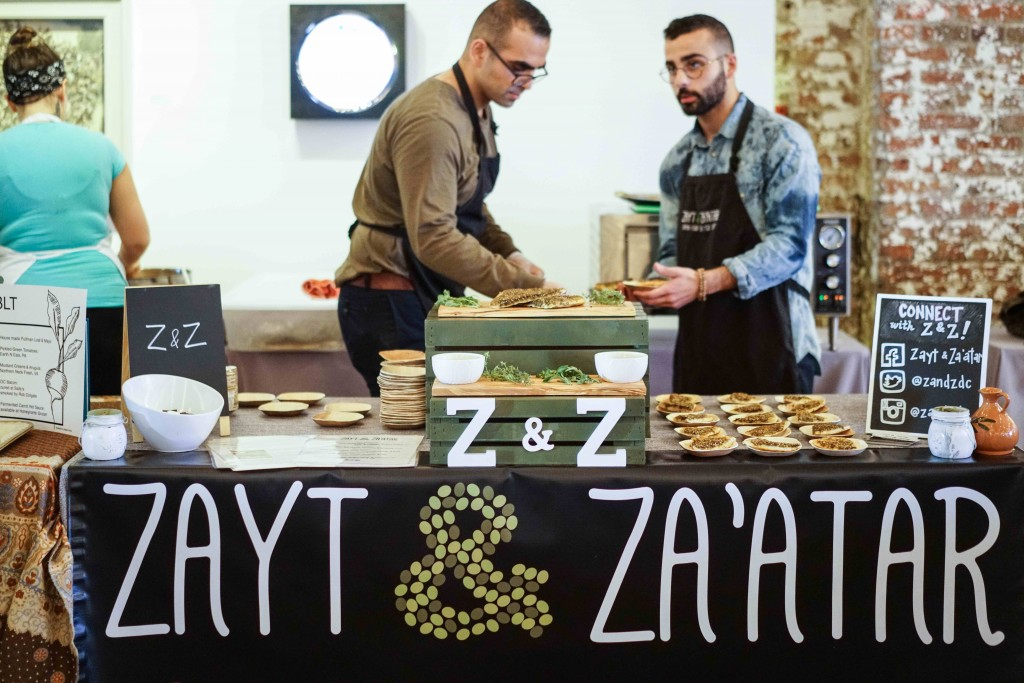 Newly launched vegan flatbread company, Z&Z, can be found at area farmers markets and hopefully our next event. (Photo by Albert Ting)
