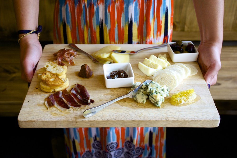 Build your own cheese board.