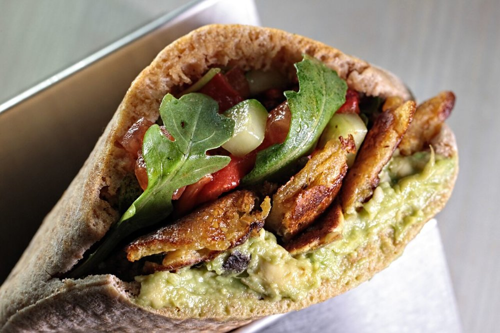 The Breakfast Pita at Shouk.  (photo from Shouk)