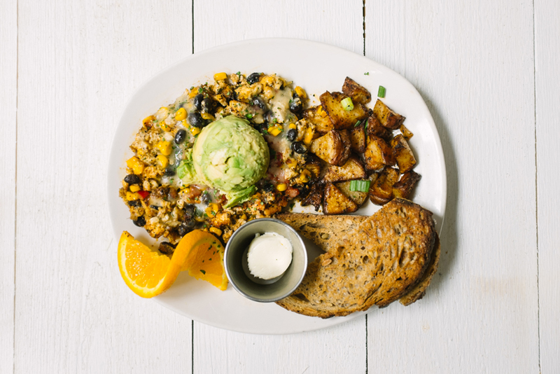 Southwest Tofu Scramble.  (photo courtesy of Modern Market)