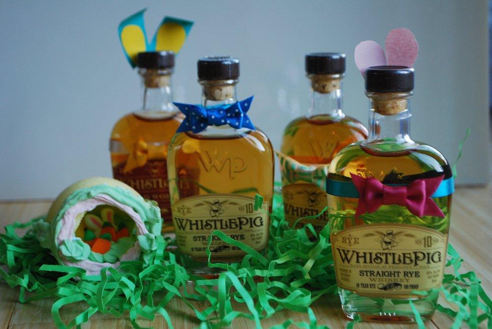 WhistlePig Whiskey at Bourbon steak's bottle hunt