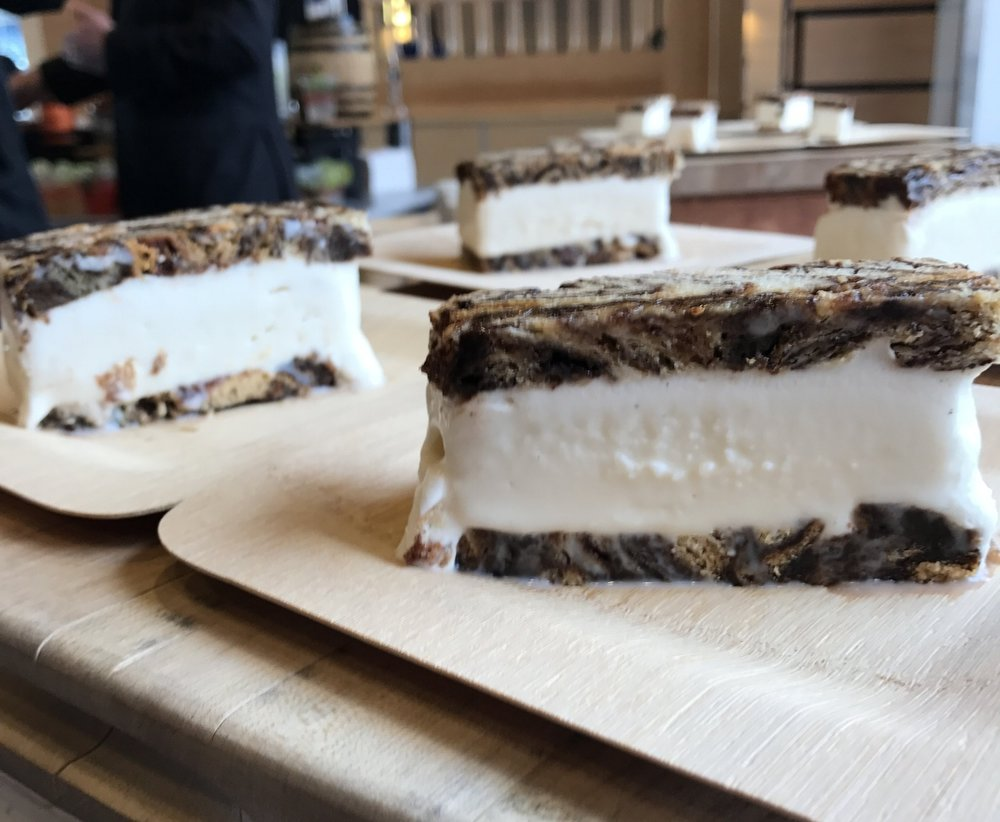 On Rye Babka Ice Cream sandwiches. (Photo by AJ Dronkers)