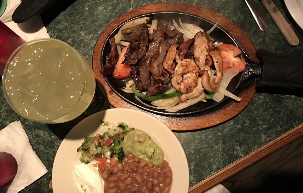 Pro tip order the fajitas at Haydee's Restaurant -- they also have a location in Takoma Park (Photo by AJ Dronkers)