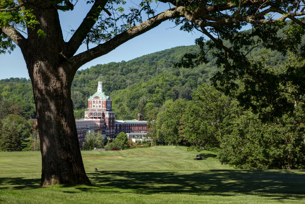 The Homestead, Hot Springs, Virginia's storied resort.