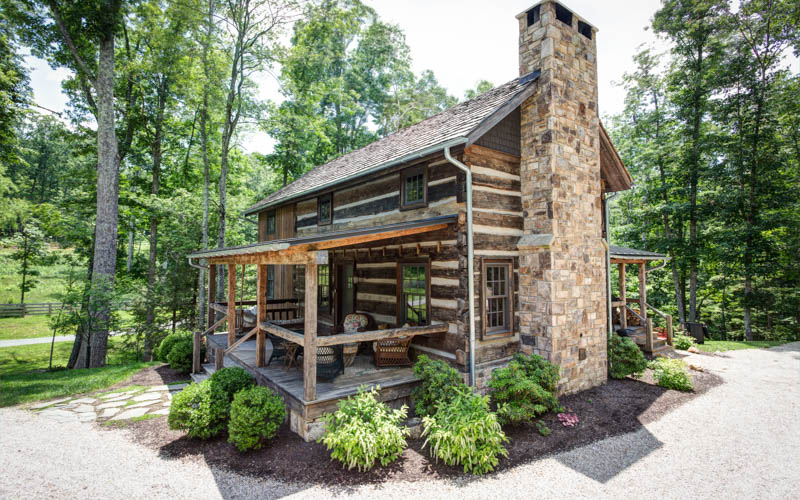 A cabin at Natural Retreats. (photo credit: Natural Retreats)