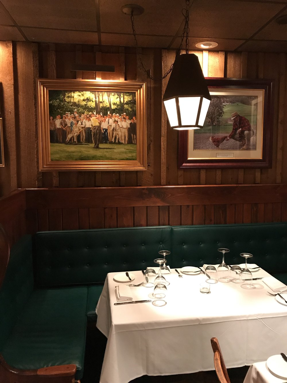The dining room at SNEAD'S 1912 Steak. (photo credit: Tim Ebner)