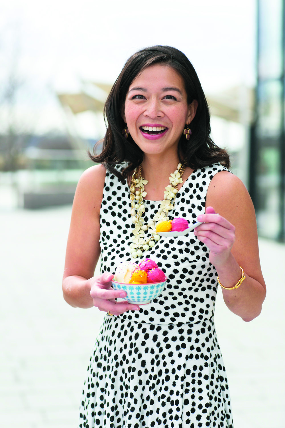 Victoria Lai, founder, Ice cream jubilee