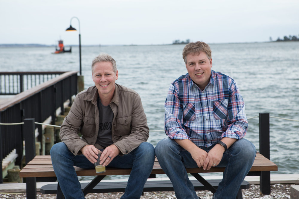 Ryan Croxton and Travis Croxton founded Rappahannock Oyster Company, a resurrection of family business started over 125 years ago.