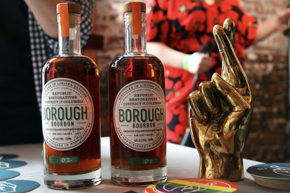 Republic Restoratives Borough Bourbon and other local spirits.
