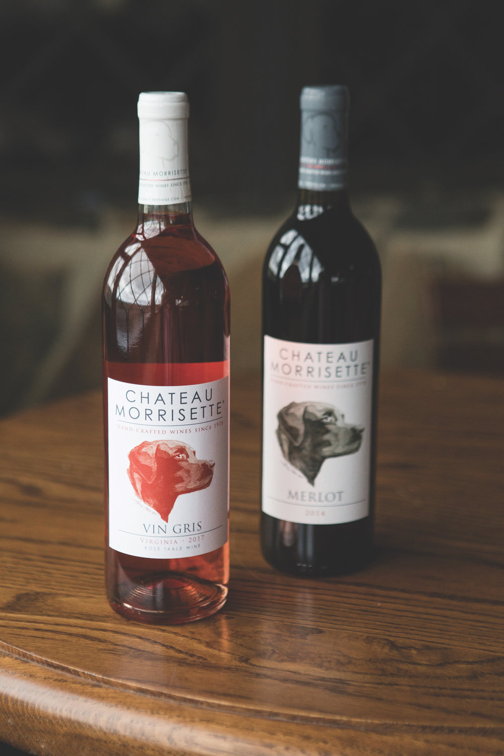 Wines from Chateau Morrisette