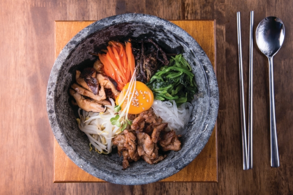 Bibimbap is just one of many dishes that can be found in restaurants along Howard County's Korean Way.