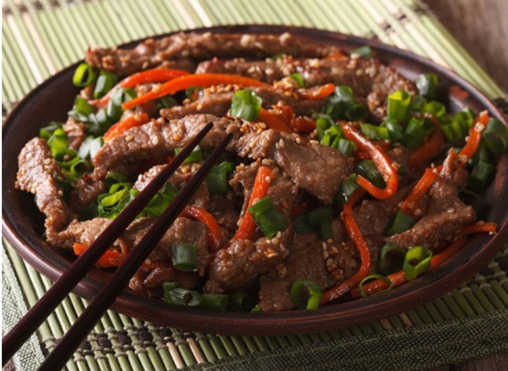 Korean families have gathered around a traditional table at holidays for hundreds of years, and bulgogi is a popular favorite.