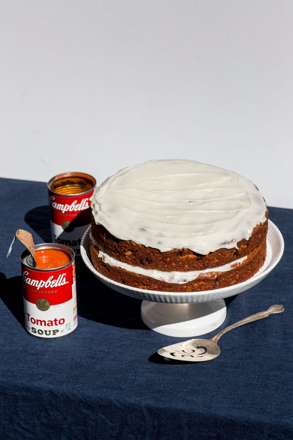This recipe for tomato soup cake is a testament to the resilience of Depression-era Americans, and makes a delicious dessert to boot.