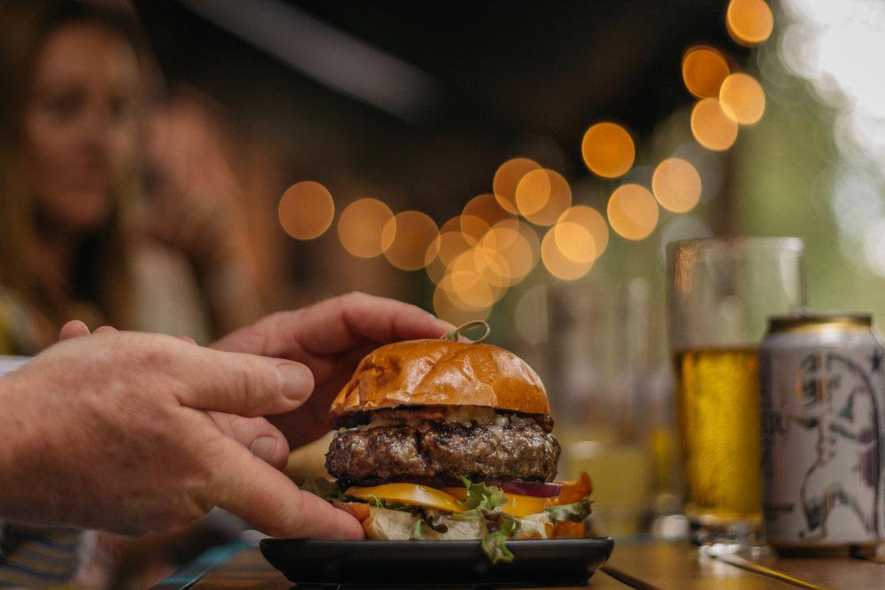 Dyllan's Burger (Photo by Timothy M. Yantz)