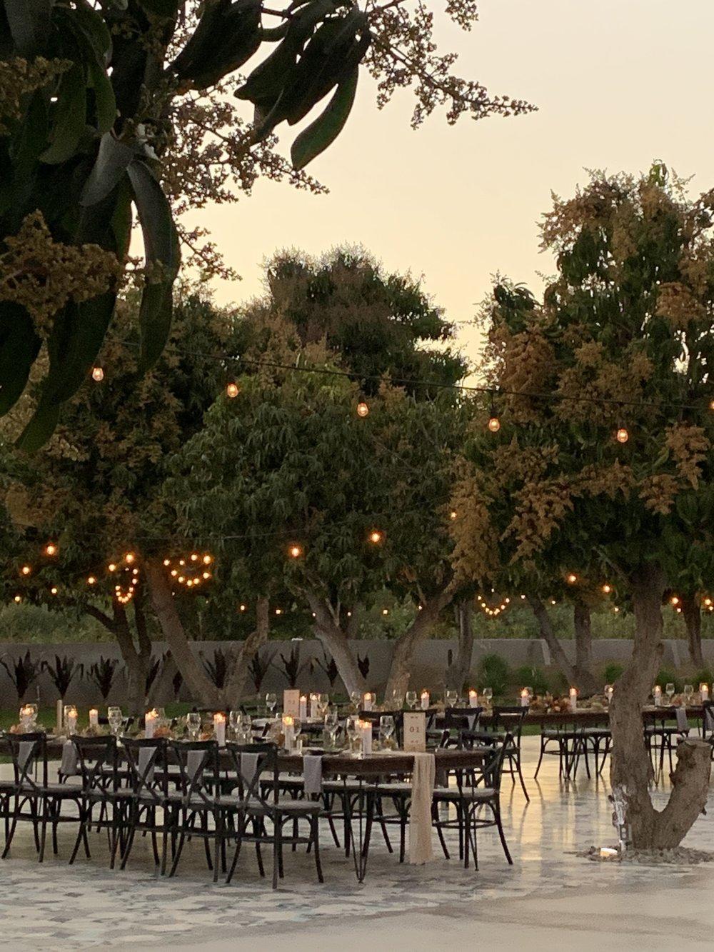 The wedding reception @acrebaja.