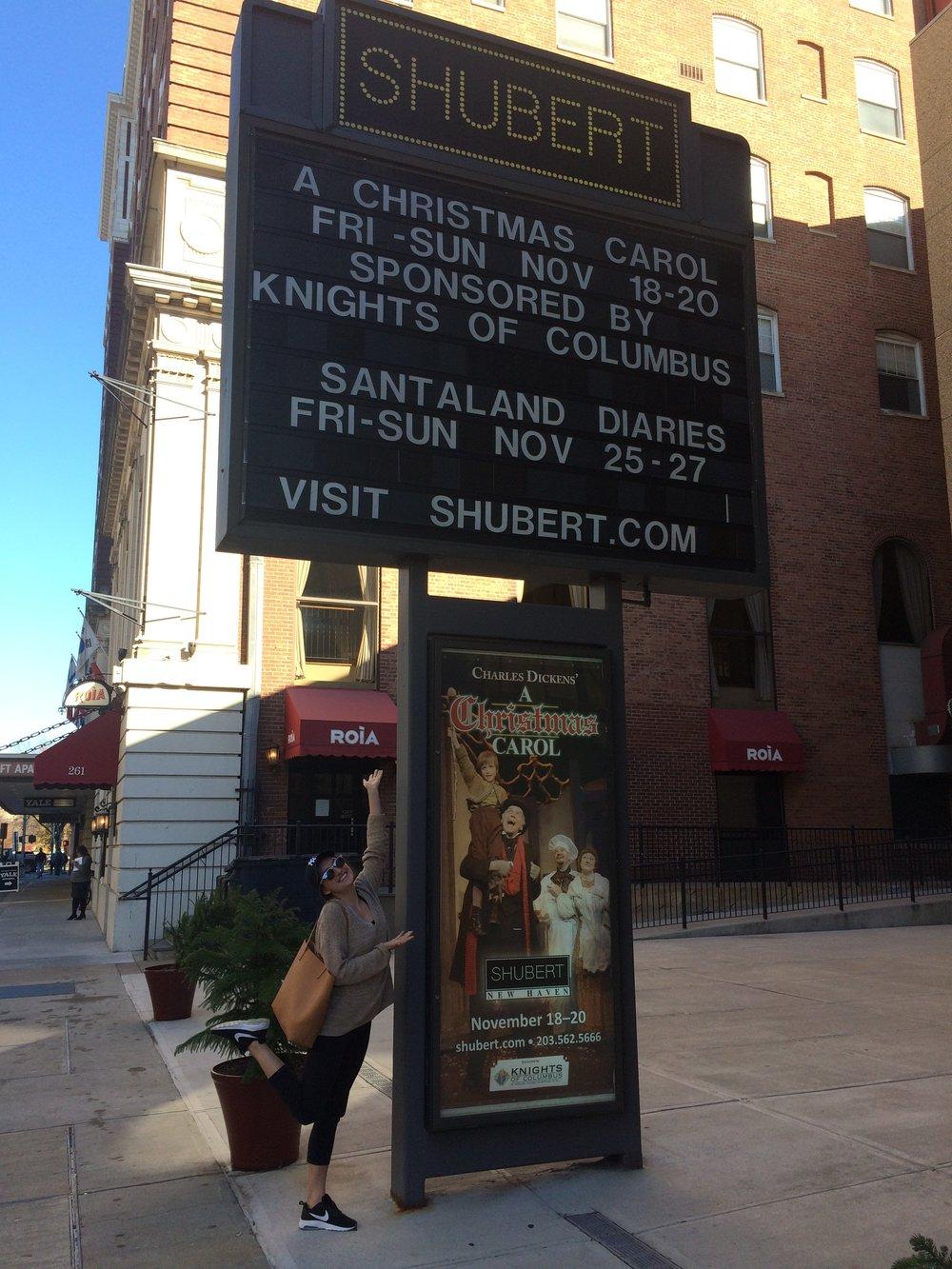 The Shubert Theatre in New Haven, Connecticut