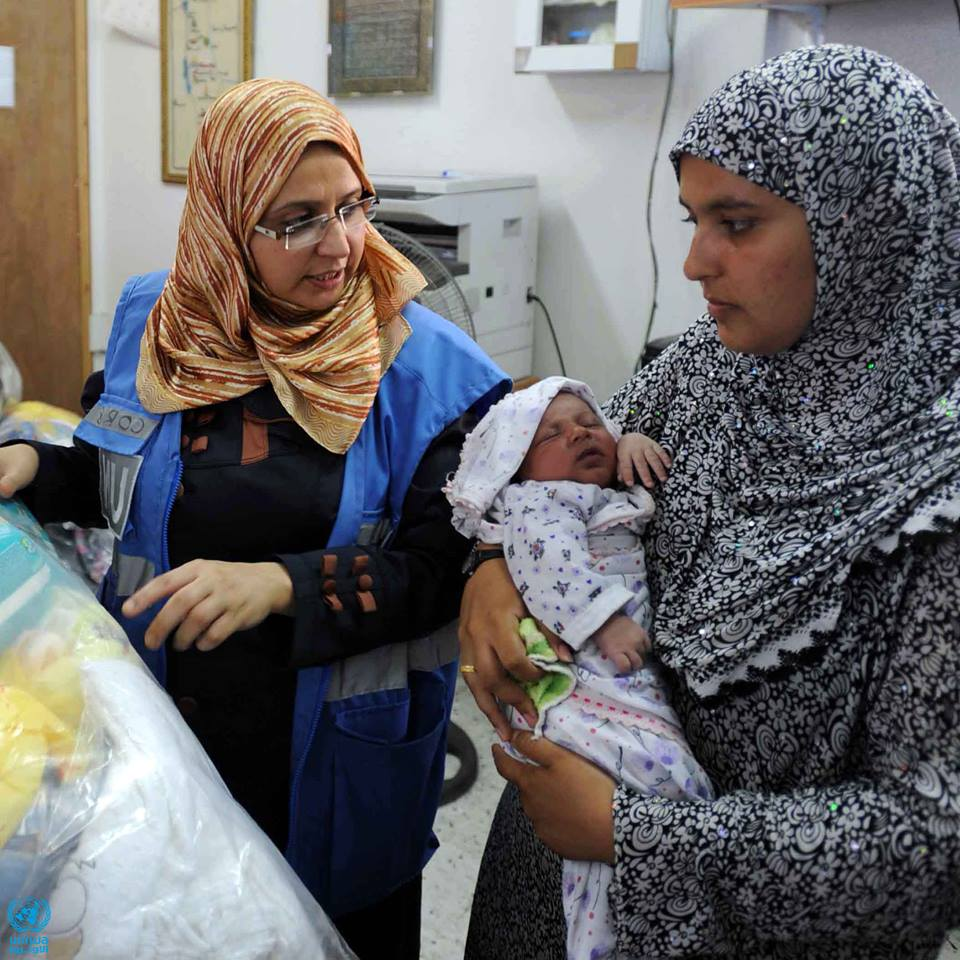"""I was determined to serve my people, and nothing would deter me from my goal. It was very hard to leave my children during such terrible times, but it was my duty and responsibility and I would never shy from fulfilling it."" -Dr. Hend Harb, UNRWA Senior Medical Officer, November 2014"
