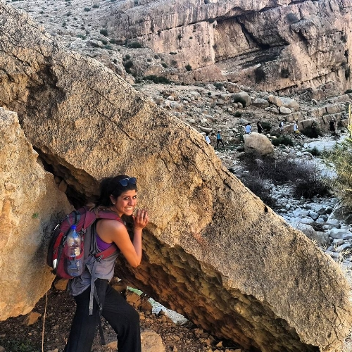 Manaeesh-fueled hiking in Jericho