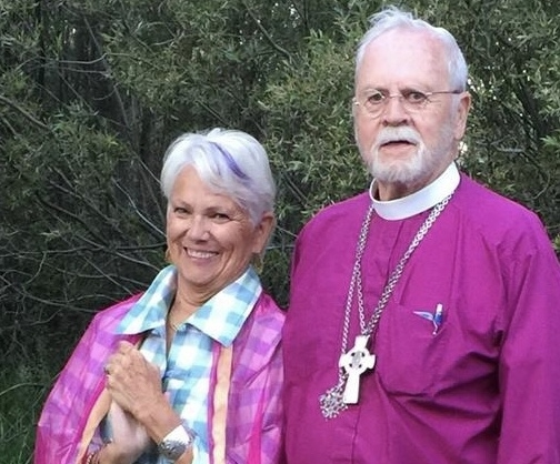 Mary-Page Jones and Bishop Bob Jones