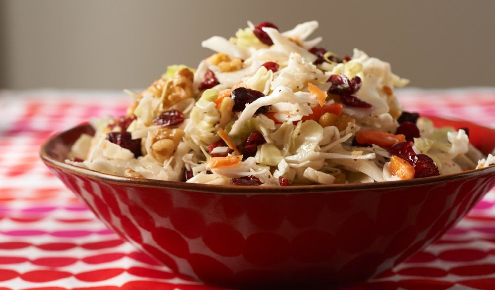 Cranberry Walnut Coleslaw - Cooking Matters