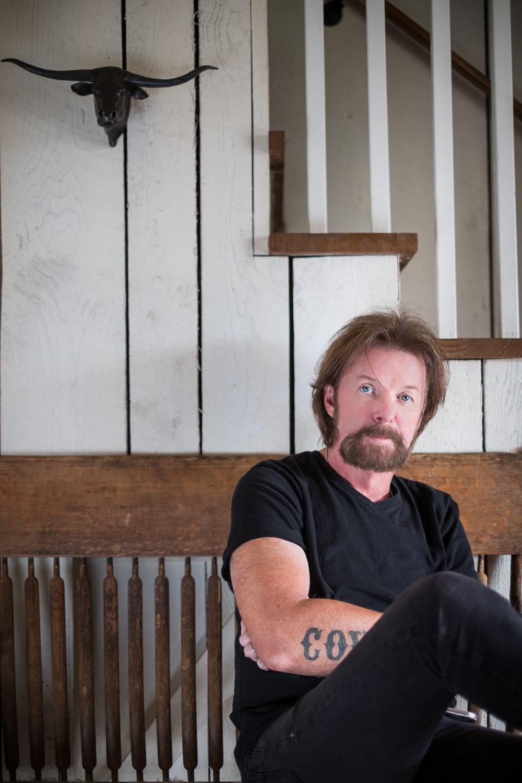 Ronnie Dunn at home, Brentwood, TN