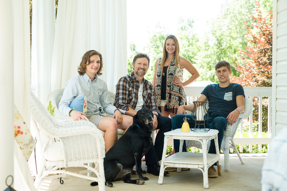 Craig Morgan & Family