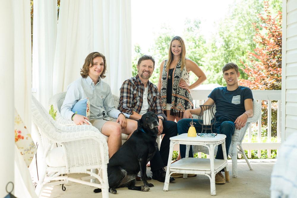 Craig Morgan & Family