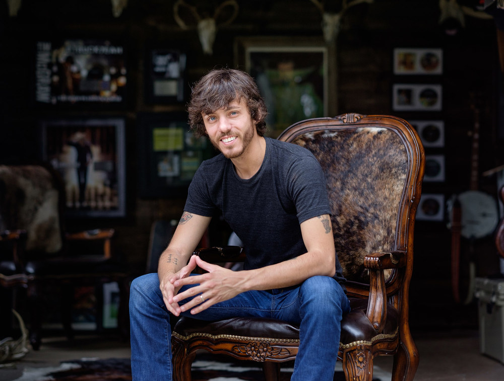 Chris Janson at Home in Franklin, TN